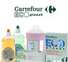 Bodegón productos Carrefour ECO planet