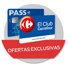 Ofertas exclusivas para tarjetas El Club Carrefour y PASS