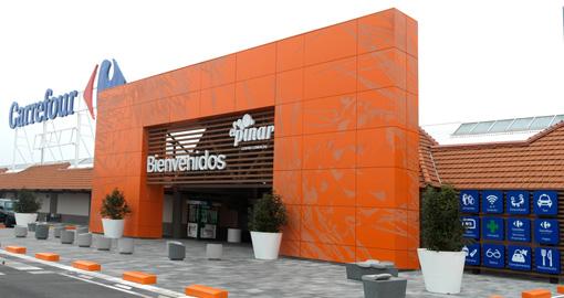 fachada centro comercial castelln