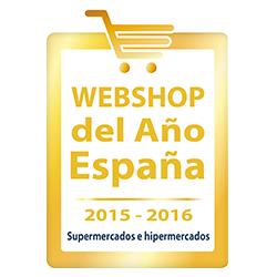 WEBSHOP del Año España. Categoría Supermercados e Hipermercados