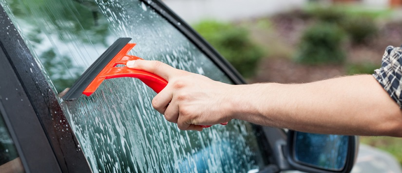 Limpiar los cristales del coche - Aparatos para limpiar cristales ...