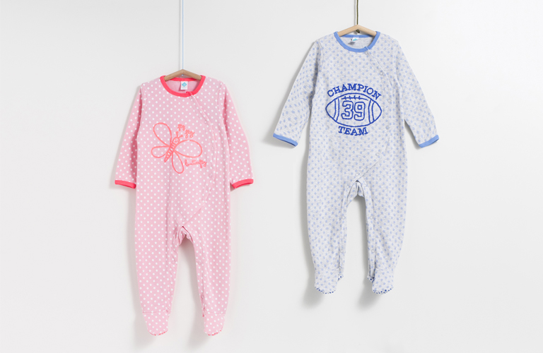 monos de bebé
