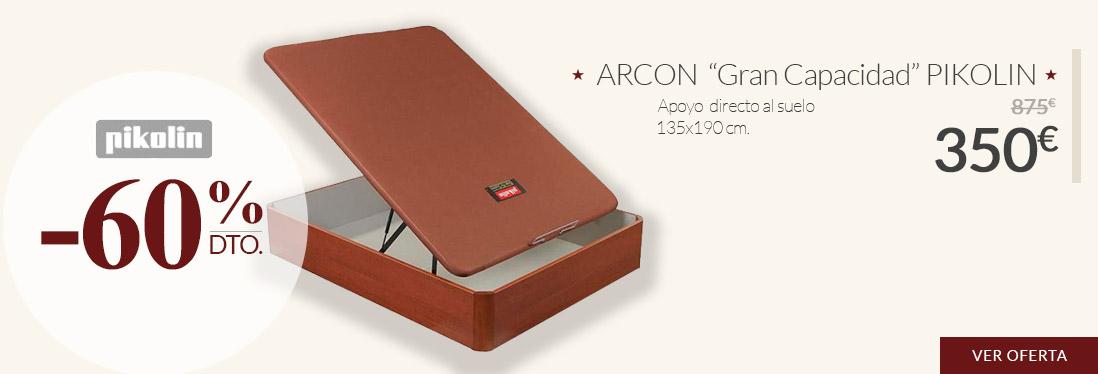 Arcón GRAN CAPACIDAD de PIKOLIN de 135x190cm en OFERTA con un 60% de Descuento de 875€ a 350€