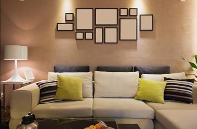 Ideas para colgar cuadros pon un mural en tu pared for Distribucion cuadros pared