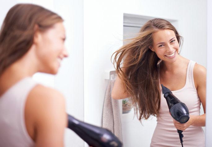 peinados con secador