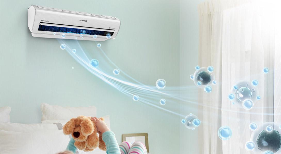 Climatización Samsung