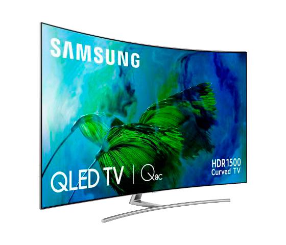 TV LED 65 Samsung 65Q8C,Curvo,UHD 4K,Smart TV