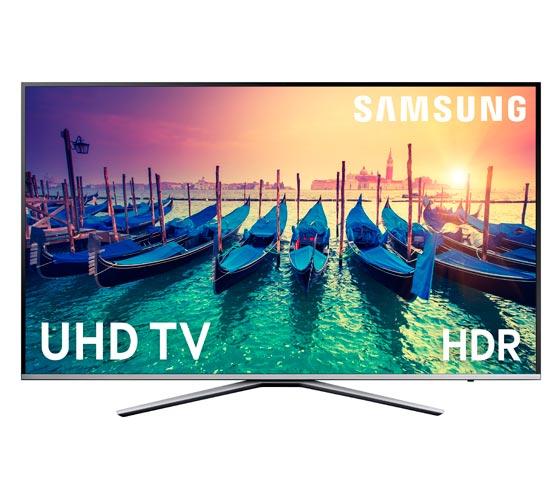 TV 40 UHD 4K Plano Smart TV Serie KU6400 con HDR