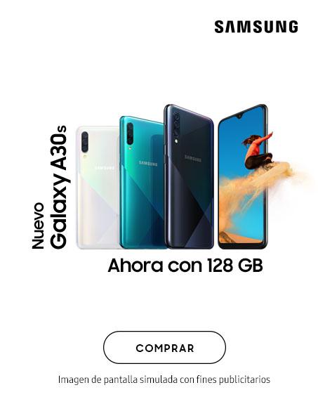 Galaxy A30e Ahora con 128GB