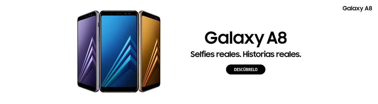 Nuevo Samsung Galaxy A8. Selfies reales.Historias reales