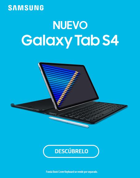 Nuevo Galaxy Tab S4 con cupón de 100€ de regalo