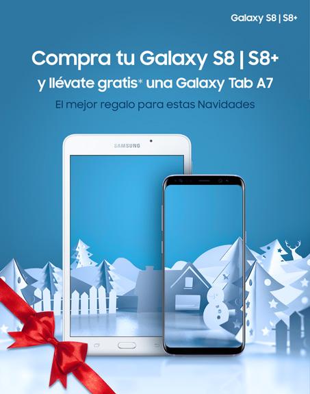 Compra tu Galaxy S8 y llévate gratis una Galaxy Tab A7