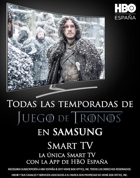 Juego de Tronos en Samsung Smart TV