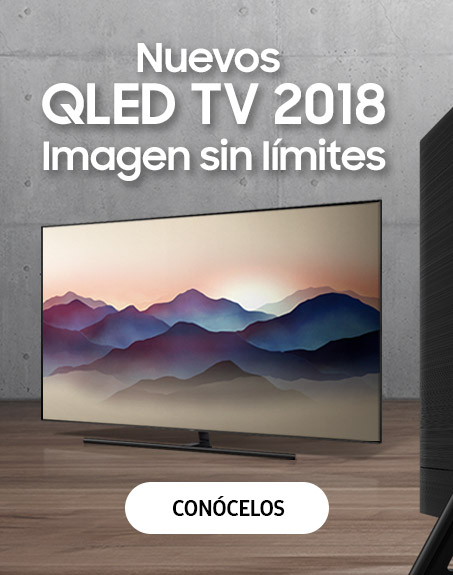 Nuevos televisores QLED TV 2018