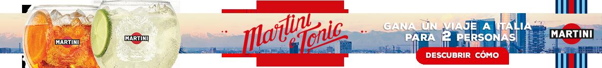 Opta a un viaje a Italia para dos personas con Martini