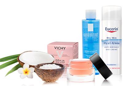 10% en todos los productos de cuidado facial