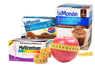 10% en todos los productos de nutrición y dietética