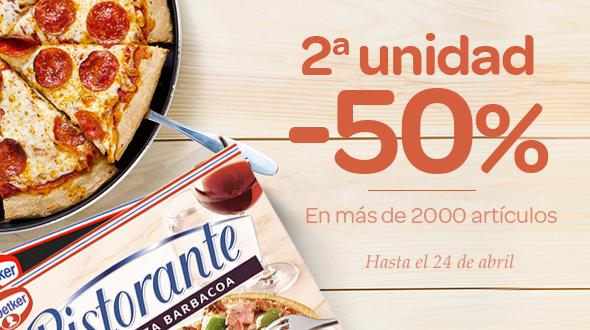2ª -50% Pizzas Ristorante DR. Oetker