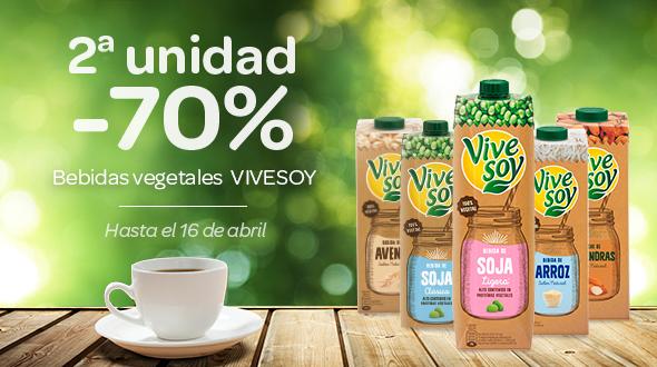2º al -70% dto en Vivesoy