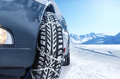 cadenas nieve coche
