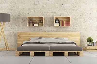 Palets La Ultima Tendencia Para Decorar Tu Casa - Mueble-con-palets