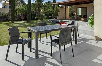 C mo restaurar muebles de resina en 3 pasos for Muebles terraza carrefour