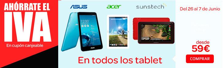 Sin IVA tablets