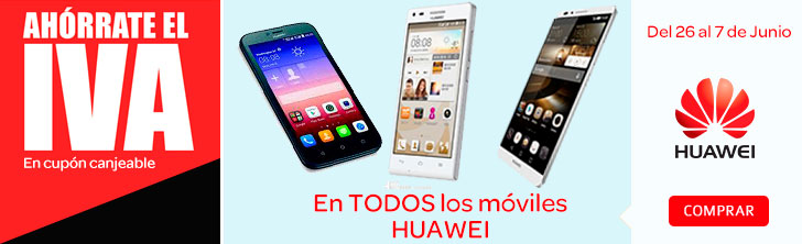 Moviles Huawei Sin IVA