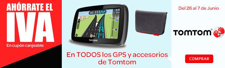 Sin IVA en GPS y accesorios TomTom