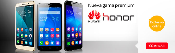 Comprar m�viles Honor