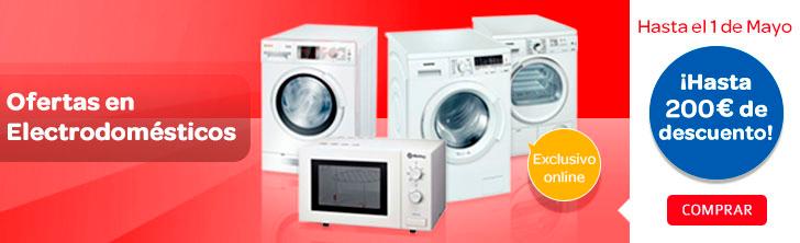 Ofertas en la compra de lavadoras frigor ficos for Frigorificos bosch carrefour