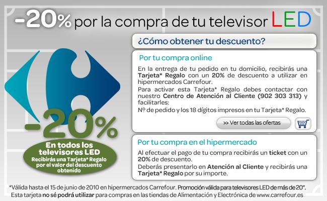 Carrefour 20 Televisores Led