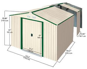 Pergolas metalicas alcampo alcampo ofertas de el corte for Casetas de jardin metalicas baratas