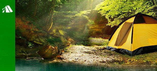 camping y playa