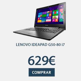 Portátil Lenovo Ideapad G50-80 con i7