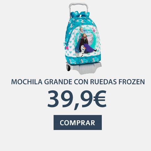 mochila grande con ruedas frozen