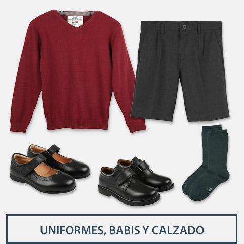Unifomes, babis y calzado