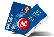 Tarjetas PASS y El Club Carrefour