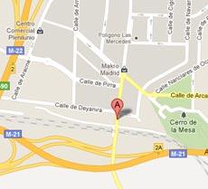 Mapa Localicazión. C/Campezo, 16. 28022, Madrid