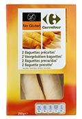 Baguettes precocidas 250gr 2 UDS SIN GLUTEN