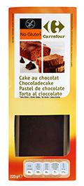 Pastel de chocolate 225gr SIN GLUTEN