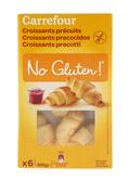Croissants precocidos SIN GLUTEN x6 300gr