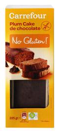 Plum cake de chocolate SIN GLUTEN 225gr