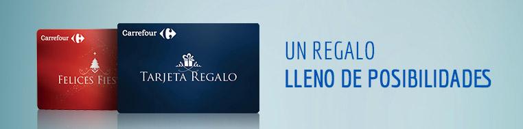 Tarjeta Regalo Carrefour. Un regalo lleno de posibilidades
