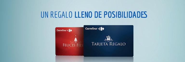 Tarjeta Regalo Carrefour. Un regalo lleno de posibilidades.