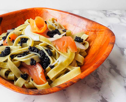 Ensalada marinera de pasta