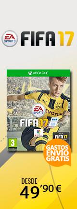 Fifa 17 gastos de envío gratis desde 49,90€
