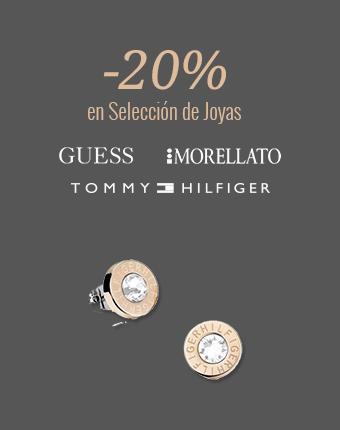 -20% menos en selección de Joyas