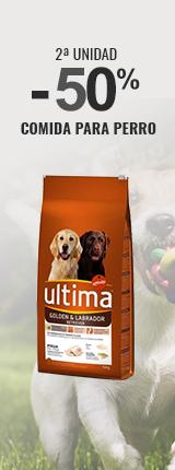 2ª unidad 50% comida para perro.