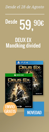 DEUX EX - Mandking Divided - Desde 59,90€